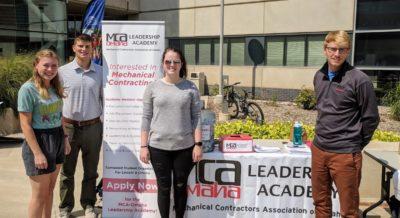 Academy Booth, PKI Involvement Fair - Omaha