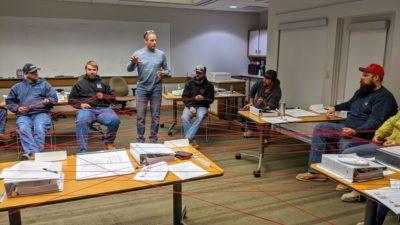 Foreman Training Final Session & Graduation